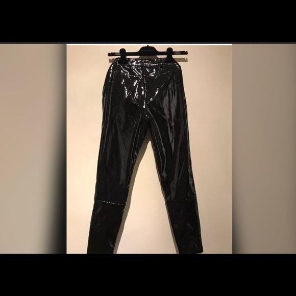 big discount sale new cheap huge sale TopShop Patent leather Pants